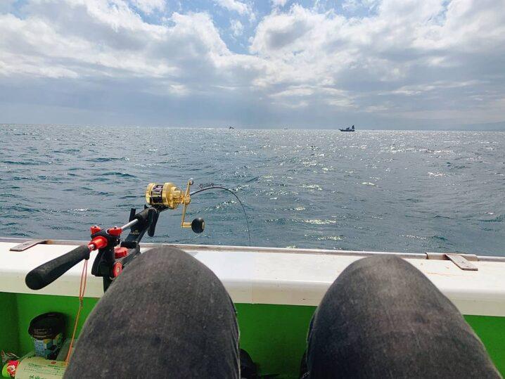 アマダイ釣りの釣り座